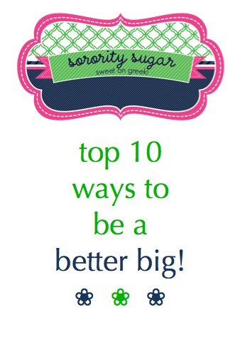 This would be so cute to print out and give to all the bigs before big/little reveal.