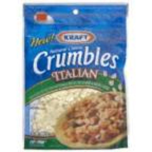 I'm learning all about Kraft Foods Cheese Crumbles Natural Italian Style at @Influenster!