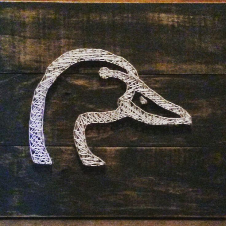 Ducks Unlimited logo string art