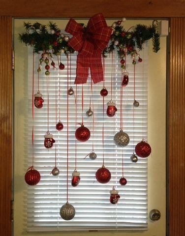 Christmas back door