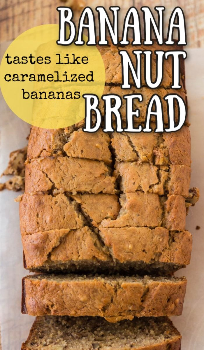 This Banana Nut Bread Is Extra Moist With The Addition Of Sour Cream While The Brown Su In 2020 Banana Nut Bread Brown Sugar Banana Bread Delicious Banana Bread Recipe