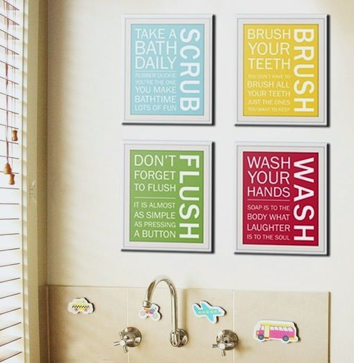 Bathroom Art Ideas To Get Ideas How To Redecorate Your Bathroom With  Alluring Layout 6