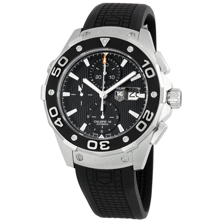 Sport watch perfection -- TAG Heuer Men's CAJ2110FT6023 Aquaracer Chronograph Watch