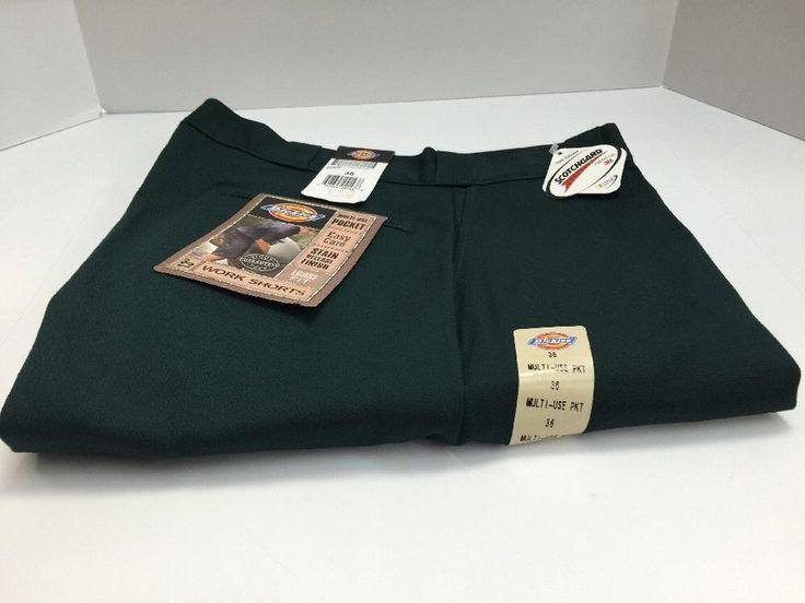 "Dickies Men's Work Shorts 13"" Inseam Loose Fit Size 36 Green #42283GH #Dickies #CasualShorts"