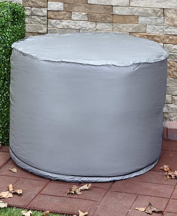 Round Ground Unit Cover Air conditioner cover, Window