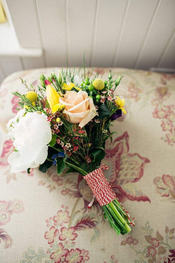 Humanist Scottish Wedding at Crear Flossy & Dossy Wedding Dress // Caroline Weiss Photography