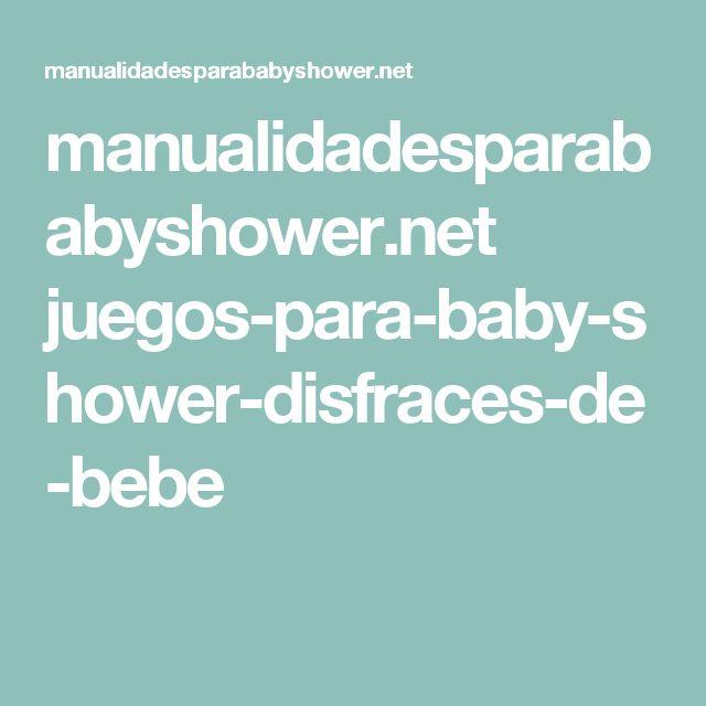 manualidadesparababyshower.net juegos-para-baby-shower-disfraces-de-bebe