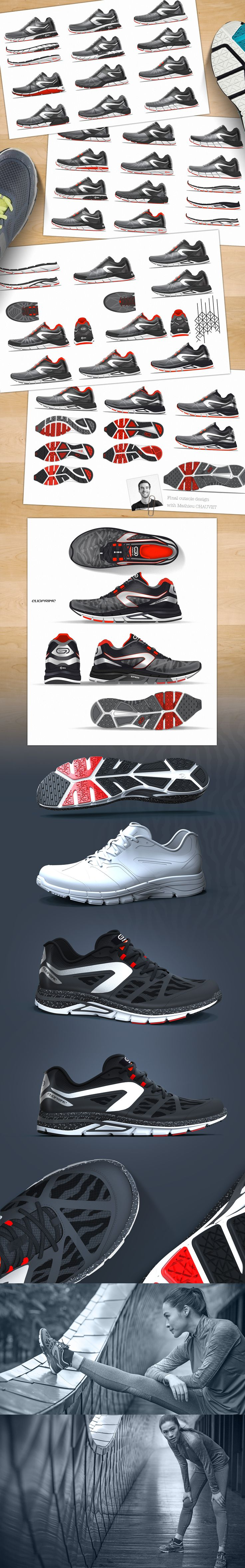 Footwear design for KALENJI / DECATHLON group