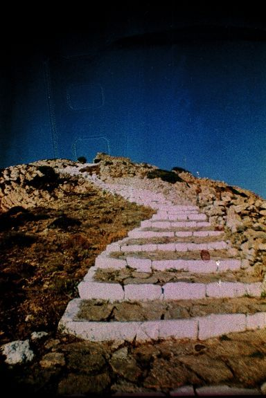 lomography color slide xpro @ Sikinos, Greece