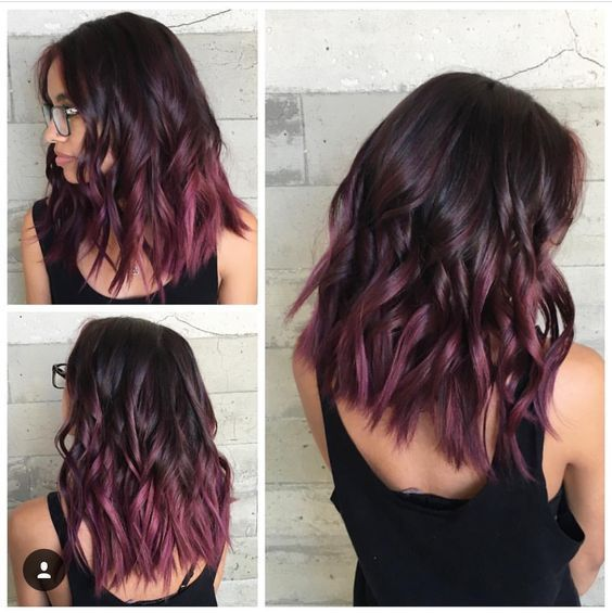 15 Superior Stylish Mauve Hair Coloration 2018 For Nice Look