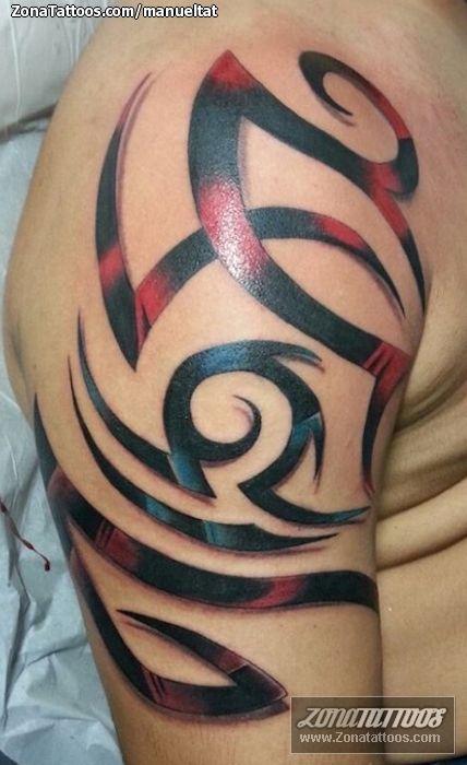 Tatuaje hecho por Enmanuel de Bávaro (R.Dominicana). Si quieres ponerte en contacto con él para un tatuaje o ver más trabajos suyos visita su perfil: http://www.zonatattoos.com/manueltat  Si quieres ver más tatuajes o diseños de tribales visita este otro enlace: http://www.zonatattoos.com/tag/78/tatuajes-de-tribales  #tatuajes #tattoos #ink #tribales