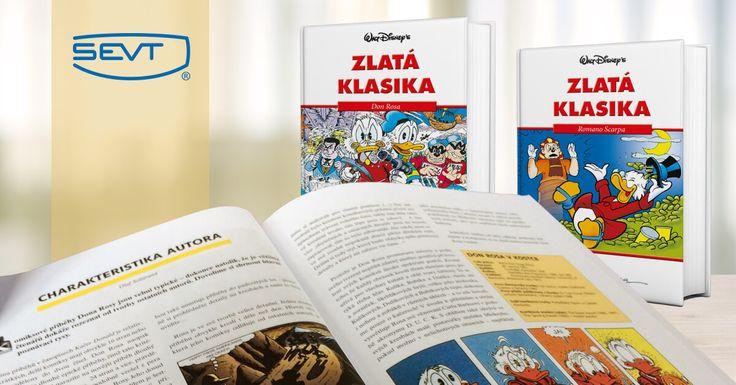 Také vzpomínáte s nostalgií, kdy jste se těšili, že do tabáku dorazí nové číslo Kačera Donalda? My jsme na těch příbězích ujížděli.   A teď nás EGMONT ČR - Nakladatelství pro děti a mládež potěšil Zlatou klasikou - komiksovou knihou ve vázané vazbě, která představuje výběr nejlepších příběhů z Kačerova od nejslavnějších disneyovských autorů.