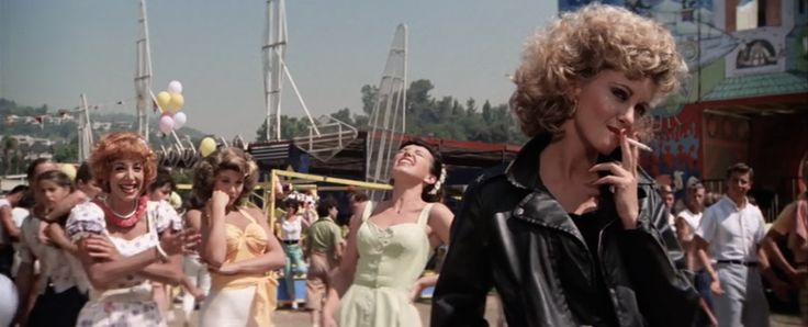 "Some things about the movie Grease (1978) we never noticed as kids but as adults stand out. For example the smoking hot seduction of DJ Vince Fontaine by Marty Maraschino. Vince even tries to Cold Cosby her with a ""aspirin in her coke"". http://ift.tt/2mmcvcB #timBeta"