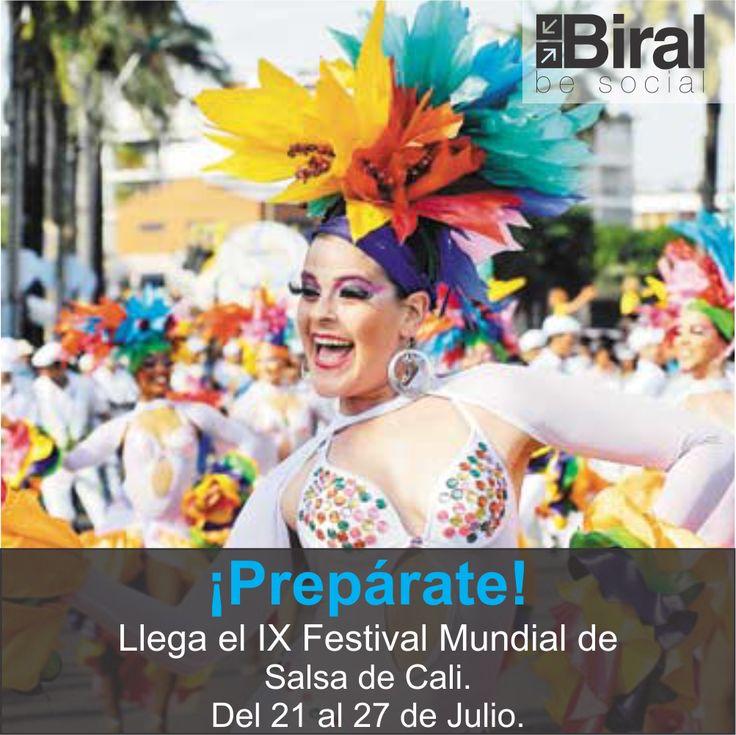 Festival Mundial de Salsa en Cali - Colombia. #biral #cali #calico #colombia