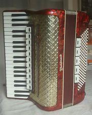 Weltmeister Worldmaster 120 bass piano accordion,with original case & straps vgc