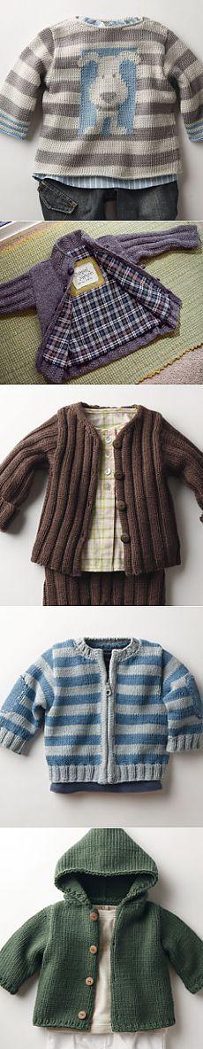 Вязаная одежда для мальчика