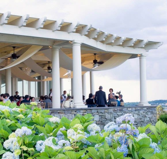 the chanler at cliff walk terrace wedding wedding chanler cliffwalk repinned