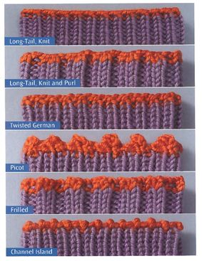Different types of bind offs....The Sock Knitter's Handbook » Knit Picks Knitting Blog