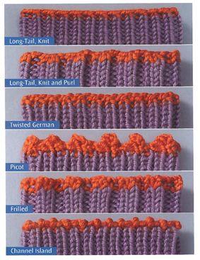 Different Bind Offs For Socks.  The Sock Knitter's Handbook » Knit Picks Blog