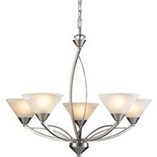 View the ELK Lighting 7637/5 Five Light Chandelier from the Elysburg Collection at LightingDirect.com.