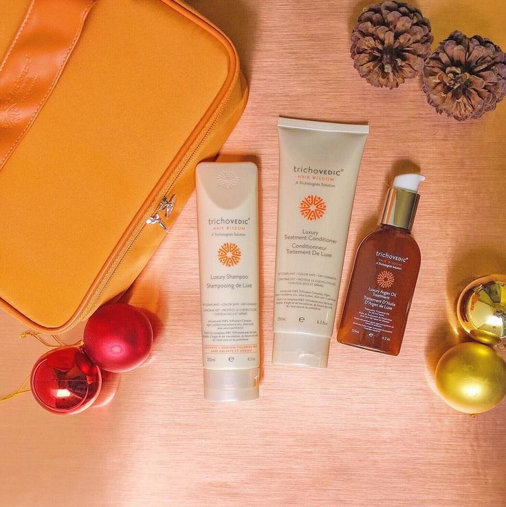 Give the gift of silky soft hair this Christmas. The Luxury Argan Oil pack offers the essential ingredients for frizz-free nourished protected and lustrous locks. #trichovedic #hairwisdom #luxuryhaircare #arganoil