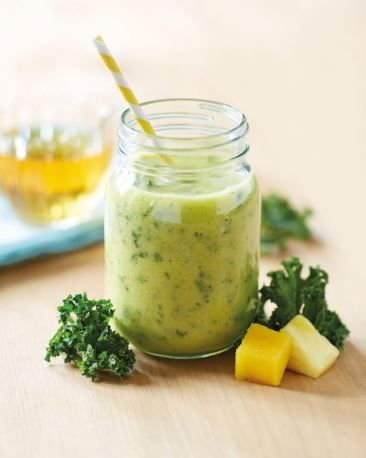 Liam Phillips loves his smoothies – especially with kale! This Mango, Pineapple and Kale Smoothie is the perfect breakfast as it will fill you with energy… even if you're not training for the Olympics!