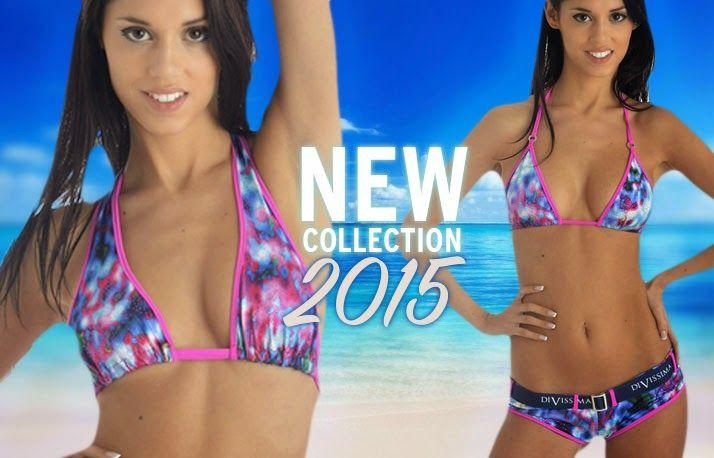 Il Bosco delle Fragole: Divissima Nuova collezione bikini 2015