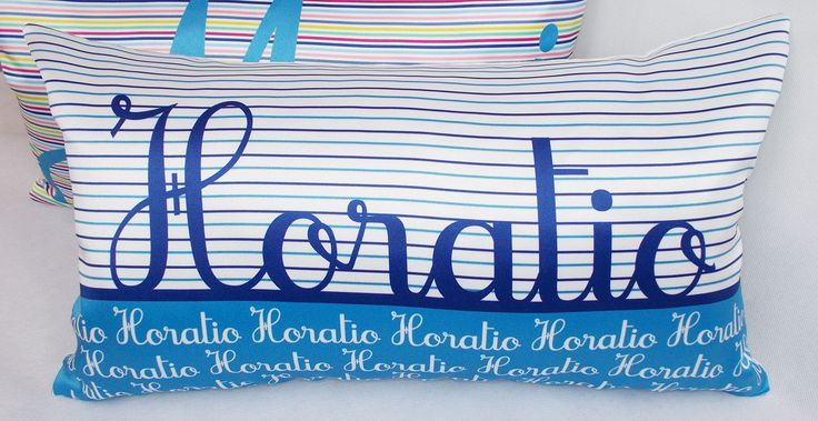 HORATIO: Personalized cushion cover