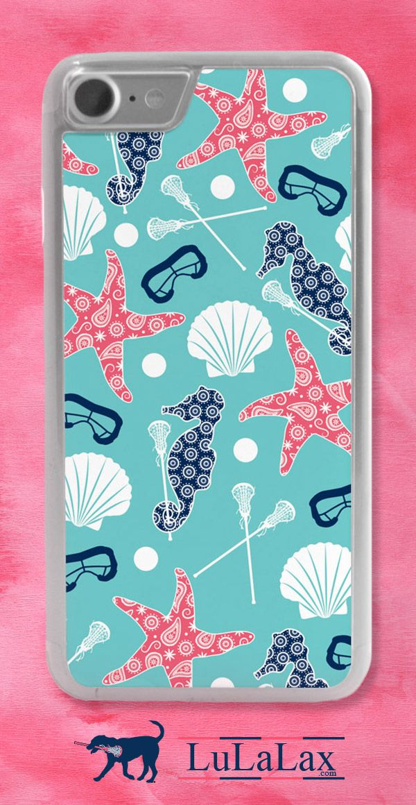 Dreaming of life at the beach? This lacrosse iPhone case will transport you to warmer weather, no matter the temperature outside!