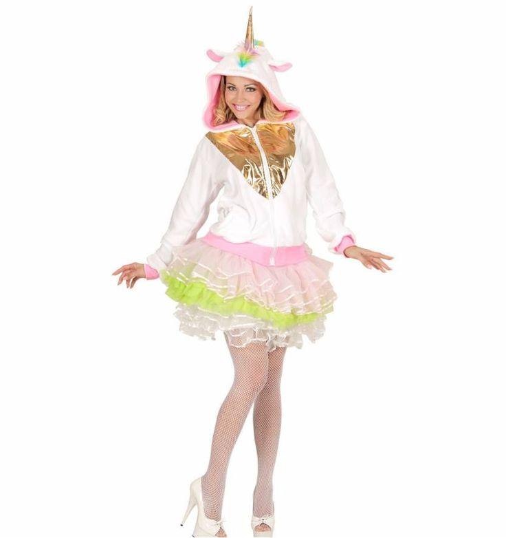 Mooi eenhoorn kostuum voor dames en heren