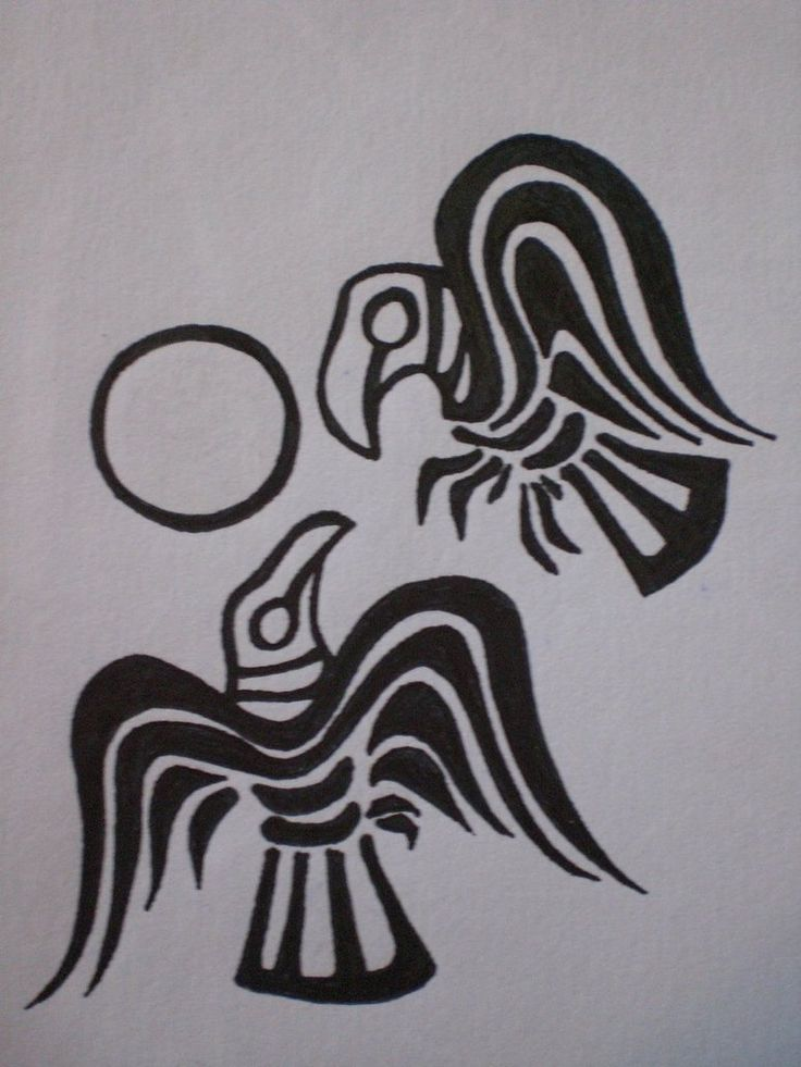 Huginn And Muninn Viking Symbols Viking Symbols