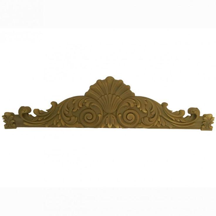 Dinteles de resina decoración puertas armarios. Pintar con acrílico Americana, pintura tiza, pan de oro plata. Disponible online en Topaz tienda manualidades.