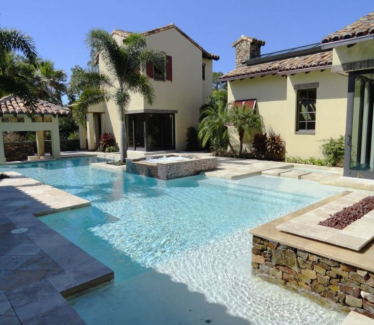 22 best residential pools images on pinterest swimming for Pool 22 design