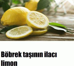 Böbrek taşına limon ile savaş açın