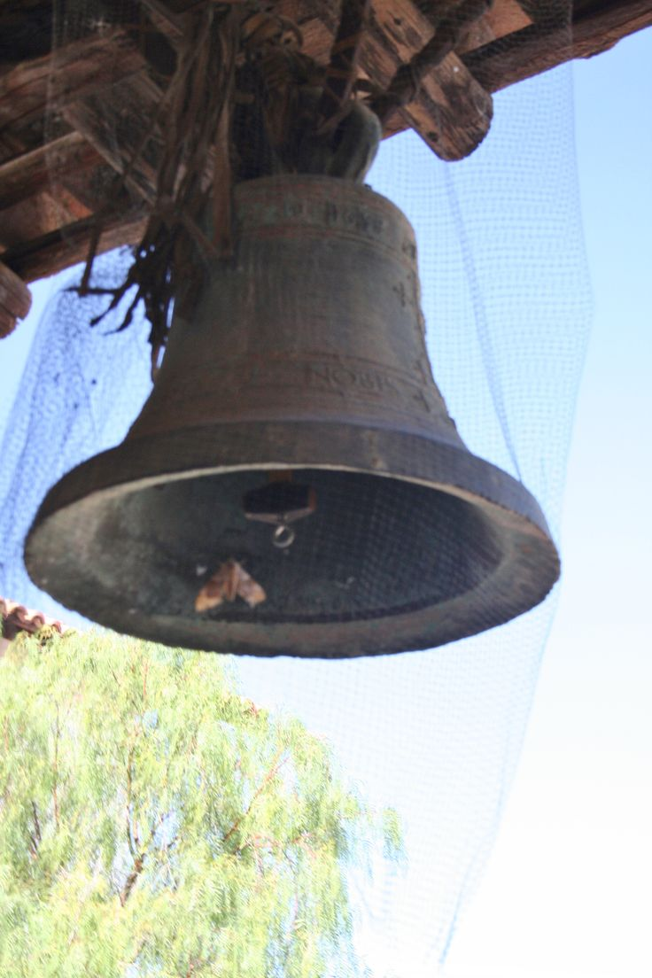 Church Bell, San Miguel Arcangel Mission