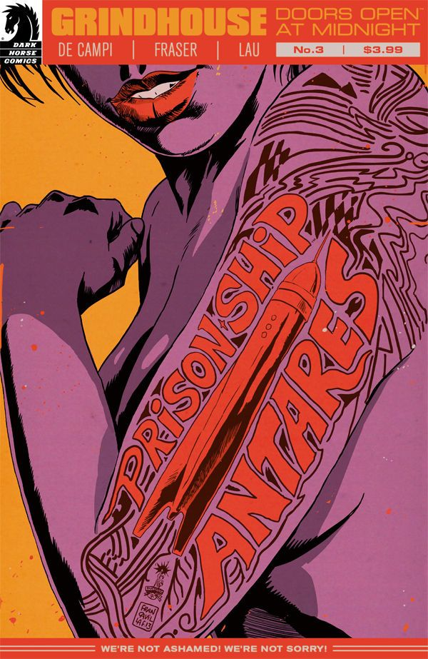 Review – Grindhouse: Doors Open At Midnight #3 (Dark Horse)