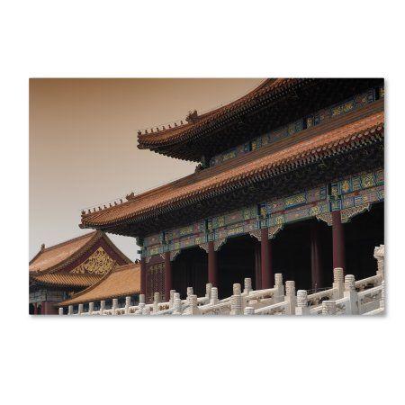Trademark Fine Art 'Forbidden City' Canvas Art by Philippe Hugonnard