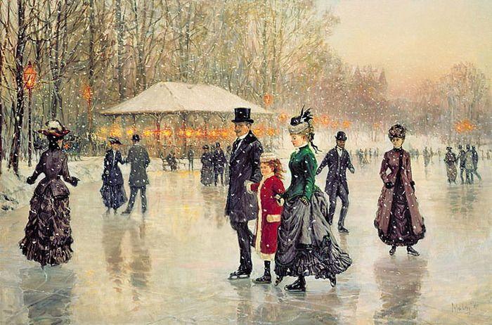 Романтизм и элегантность в картинах Alan Maley - Ярмарка Мастеров - ручная работа, handmade