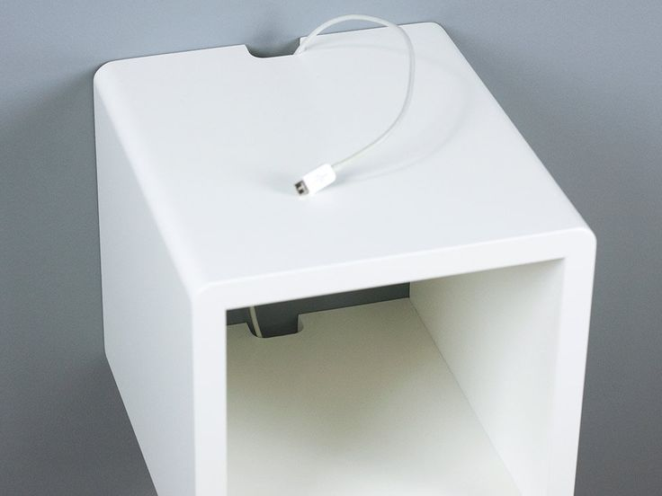 Best Mini Cubby Floating Nightstand Small Wall Mount Side 400 x 300