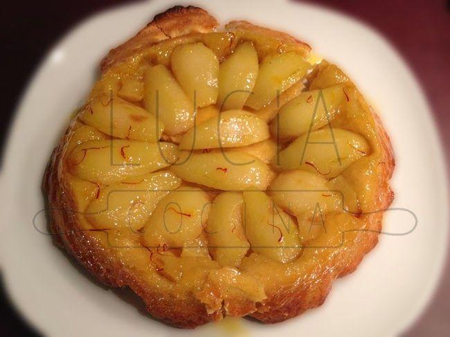 LUCIAcocina, tartetatin de peras y azafrán  http://luciacocinabogota.blogspot.com/