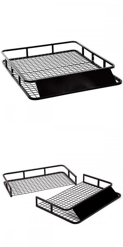 Racks and Carriers 21231: New Universal Roof Rack Basket Holder Travel Car Top Luggage Carrier Cargo Rf37 BUY IT NOW ONLY: $64.0