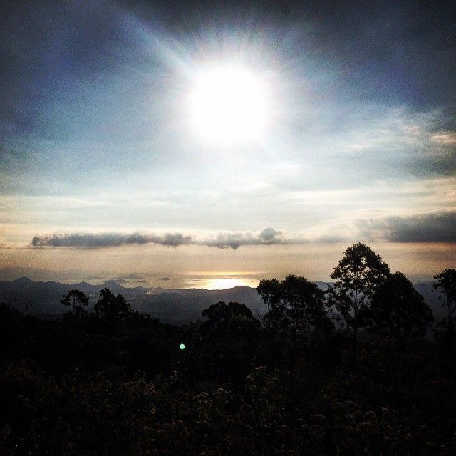 Up in the hills of Flores, overlooking Komodo National Park.