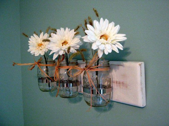 Mason Jar Wall Art mason jar wall sconces hanging mason jars wall mason jar mason jar