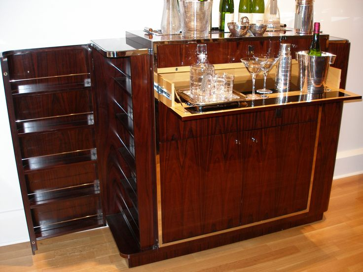 Choosing Best Bar Cabinet Furniture For Make Excellent Interior Room Decor  : Awesome Tuscany Bar And Wine Cabinet Design Ideas