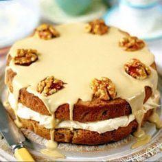 Кофейный торт с оорехами от Д.Оливера