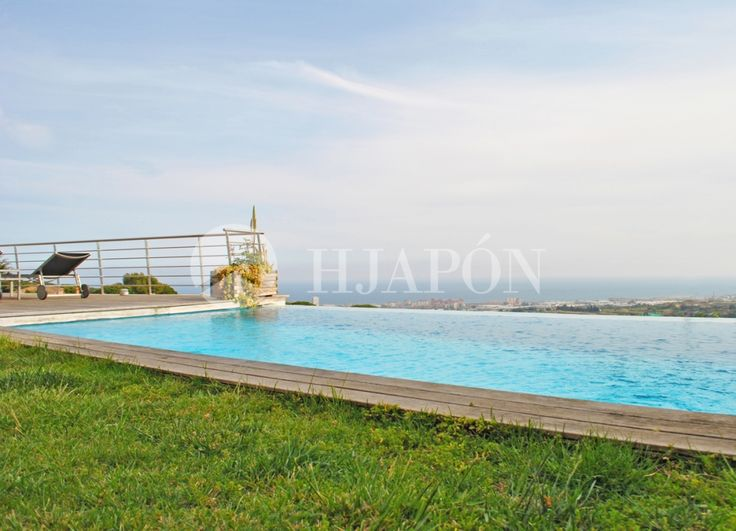 Exclusive luxury promotion for sale in Cabrils, with breathtaking views onto the Mediterranean Sea.