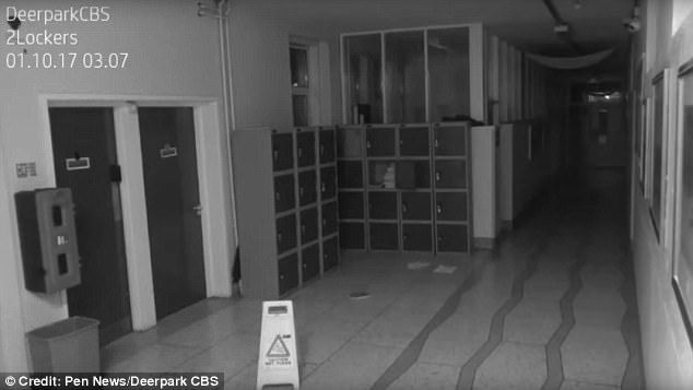The mysterious video was filmed at Deerpark school in Cork after