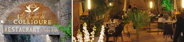 Le jardin de Collioure, les charmes du cloître.