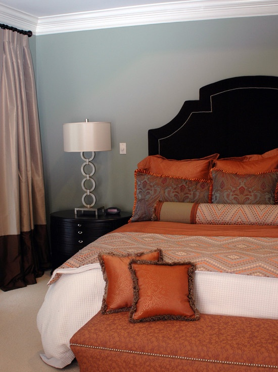 Best 25 blue orange bedrooms ideas on pinterest blue - Burnt orange bedroom accessories ...