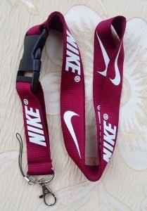 Maroon Nike Lanyard